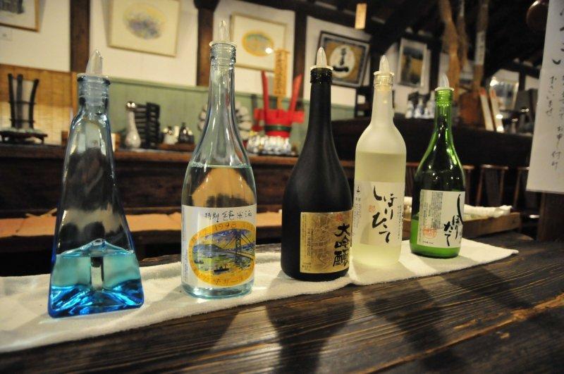 Sake auf Awaji.