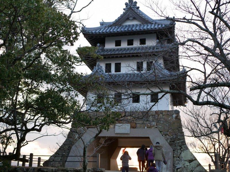 Burg Sumoto auf Awaji.