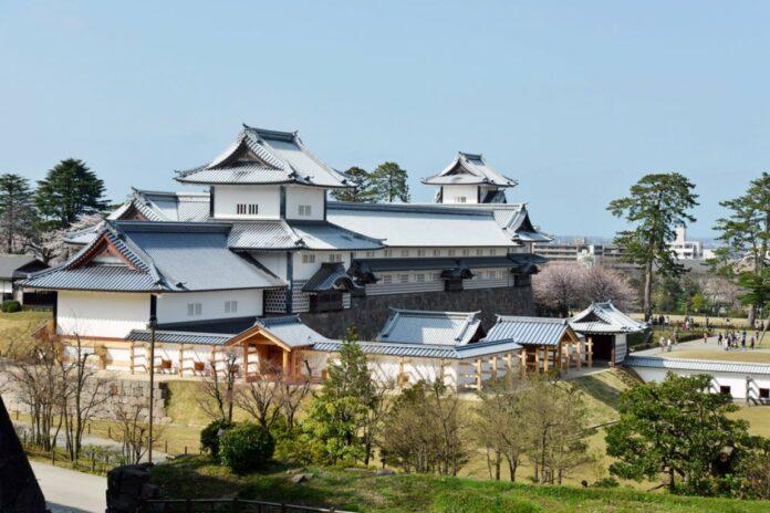 Burg Kanazawa in Ishikawa.