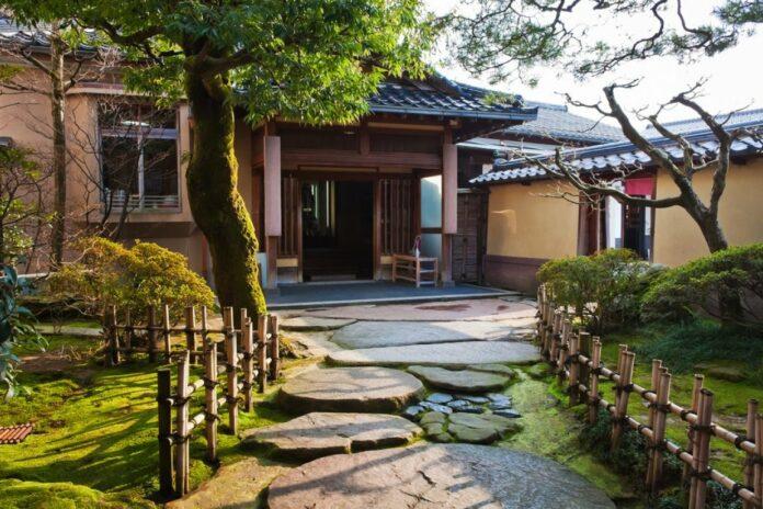 Nomura Samurai Haus in Kanazawa.