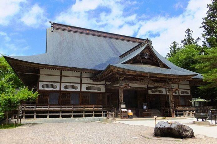 Chusonji Tempel in Iwate.