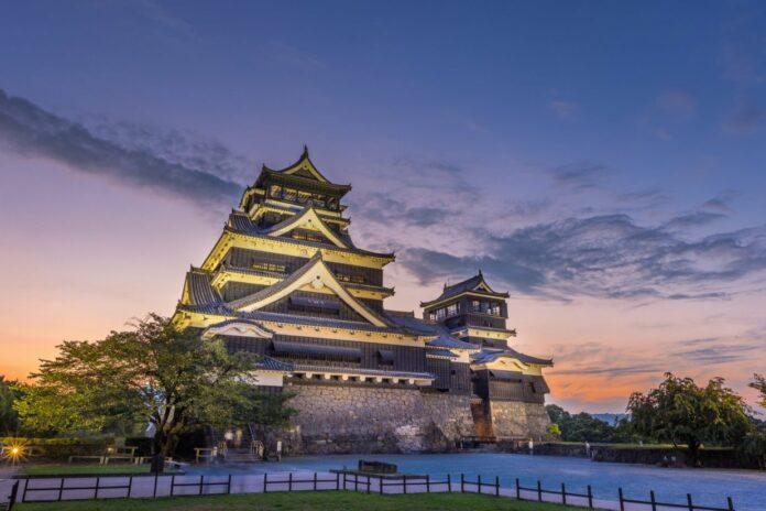 Burg Kumamoto.