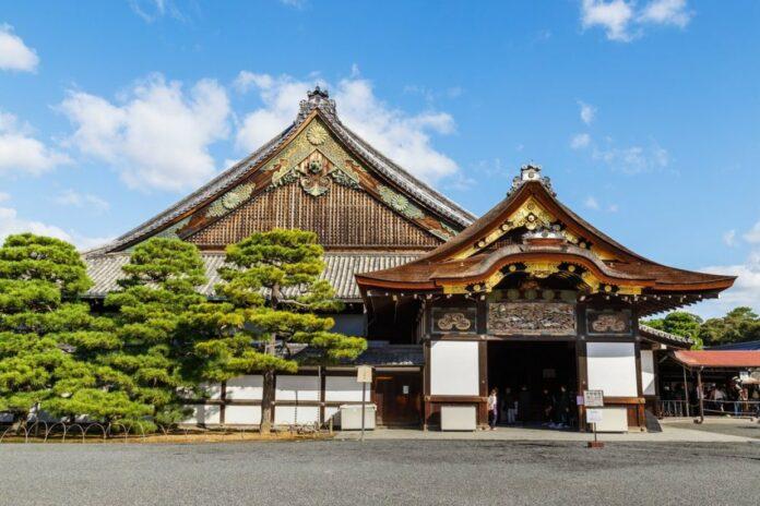 Burg Nijo in Kyoto.