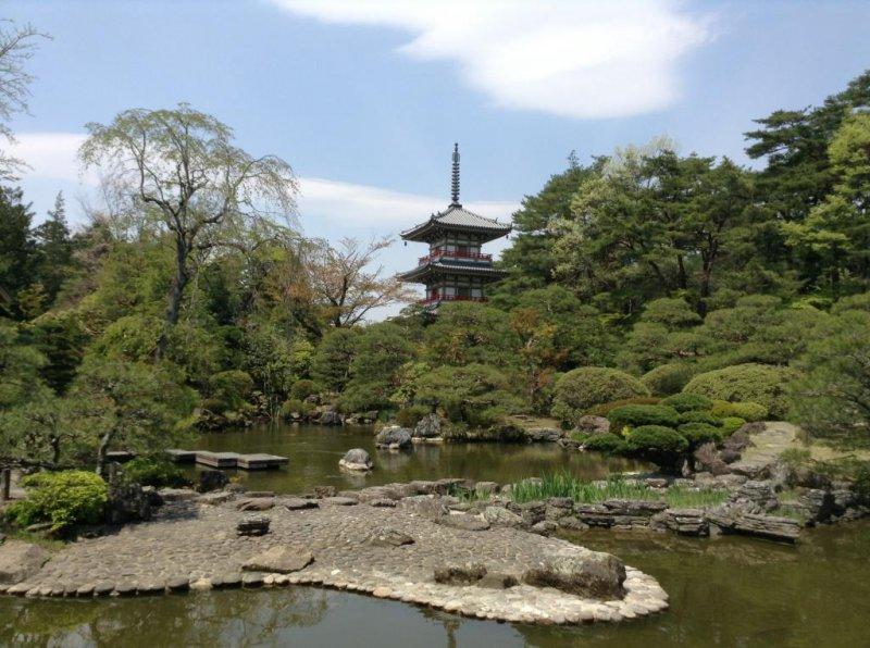 Rinnoji Tempel in Sendai, Miyagi.