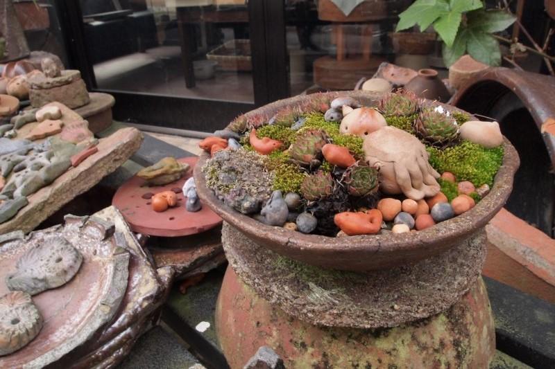Okayama Bizen Keramik Töpfern