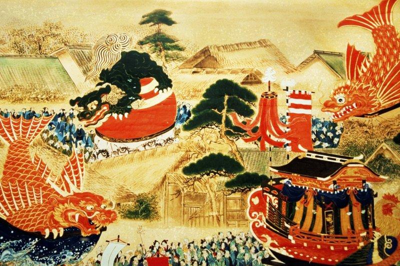 Die Hikiyama Flöße und das Karatsu Kunchi Fest haben eine lange Tradition.