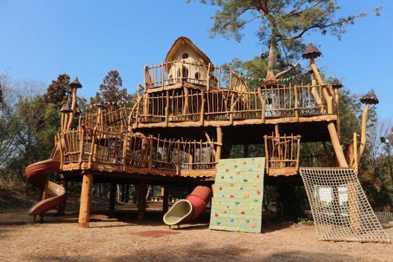 Dieser Spielplatz im Mumin Tal ist nicht nur für Kinder ein Paradies.