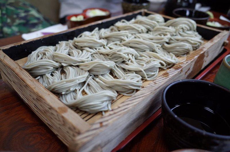 Hegi soba aus Niigata in Chubu.