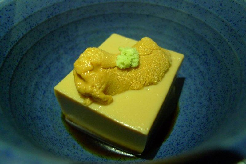 Goma tofu aus Fukui in Chubu.