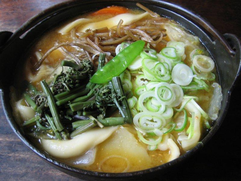 Hoto Nudeln aus Yamanashi.