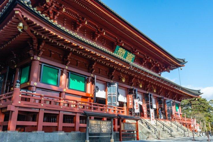 Rinnoji Temple in Nikko