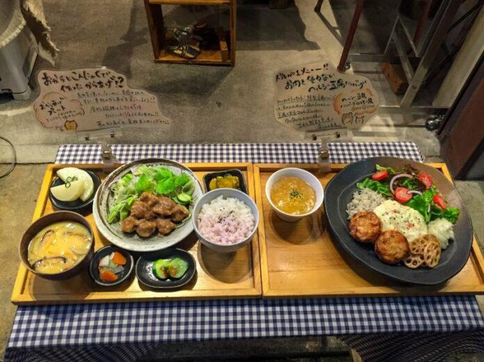 Vegetarische Restaurants in Japan werden häufiger.