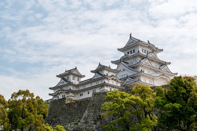 Die Burg Himeji ist eines der Highlights in Hyogo.