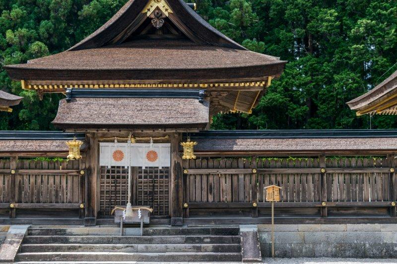 Großer Kumano Hongu Taisha Schrein, Wakayama.