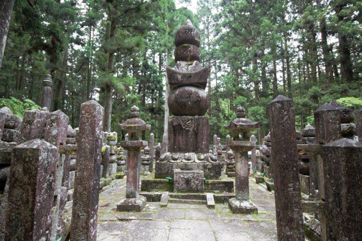 Mystische Aura im Okunoin in Wakayama.