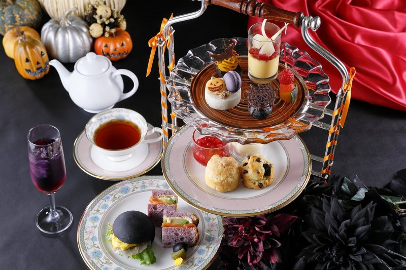 Afternoon Tea Set im Nagoya Tokyu Hotel.