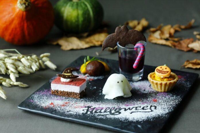 Afternoon Tea zu Halloween ist in Japan sehr beliebt.